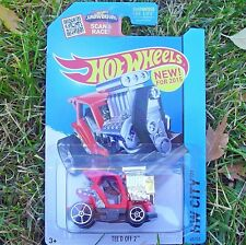 Tee'd Off 2 Golf Cart. HW City ~ 2015. CFG85. NEW in Blister Package!
