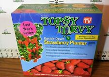 Topsy Turvy Strawberry Planter - Be imaginative - you can plant almost anything!