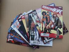Generation Hope 1 - 17 . Lot Complet . Marvel 2011 / 12  FN / VF