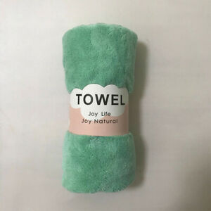 Absorbent Large Towel Bath Thick Comfortable Beach Coral Fleece Vertical To Y1