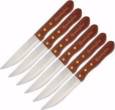 "Remington Steak Knives Set of 6 Knife R11520 10 1/8"" overall serrared NEW"