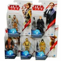 """DISNEY STAR WARS E8 3.75"""" FORCE LINK ACTION FIGURE HASBRO NEW BOXED TOYS"""