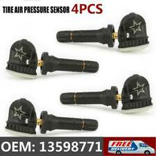 4pcs 13598771 TPMS Tire Pressure Sensors For 06-16 GM Buick Chevrolet 13598772