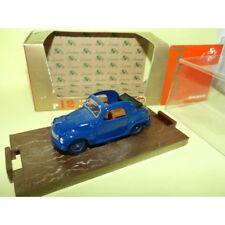 FIAT 500 C TOPOLINO 1949-1955 Bleu  BRUMM R12 1:43