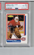 1986 Opeeche OPC Patrick Roy Rookie Card #53 PSA 6 Montreal Canadiens