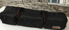 Sebring 30 Yrs Old Padded Tripod Bag 4 Tripods Black W/Red Stripped Handles