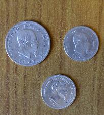 LOTTO 3 MONETE REGNO D'ITALIA VITTORIO EMANUELE 50 CENT 1860 1863 1 LIRA 1867