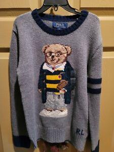 polo ralph lauren Boys Bear Sweater Size 8