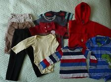 Bundle of Baby Boys' Clothes; 10 Items (12-18 months); Shorts, Jumper, Tops, ...