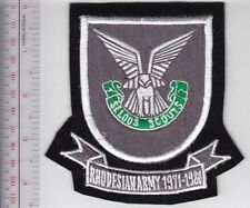 Rhodesia Defence Force RDF Selous Scouts Airborne Army Special Forces 1971 1980