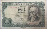 ESPAGNE - 1000 PESETAS (1971) - Billet de banque (TB)