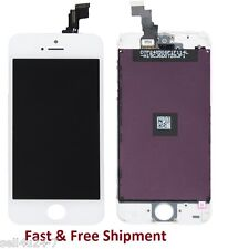 LCD Lens Touch Screen Display Digitizer Assembly Replacement for iPhone 5C White