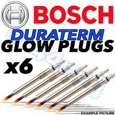 6x Bosch duraterm Diesel D Calentador De Bujías De Bmw 525 E39 2,5 M51 Eng 97 -- & gt98