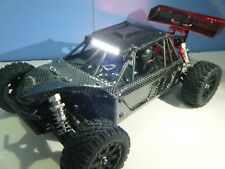 LOSI MINI 8IGHT DB CARBON FIBER BODY SET WITH LED LIGHTS BY FINAL EVOLUTION