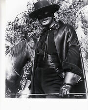 "ZORRO - Guy Williams    8""X10"" B&W Autographed Photocopy  ZORRO-01"