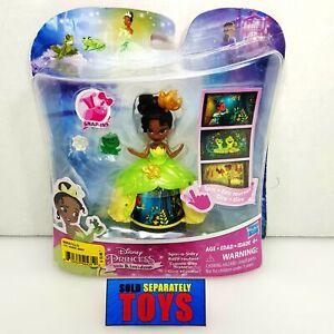 Hasbro Disney Princess Little Kingdom TIANA spin a story mini doll action figure