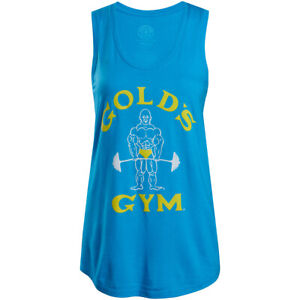 Gold's Gym Women's Classic Joe Racerback Tank Top - Blue