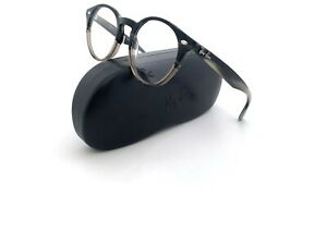 New Ray-Ban Frames Unisex RB2180-V 5540 47 21 145 Acetate Round Gray Eyeglasses