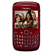 Brand New Condition Blackberry Curve 8520 Red Unlocked Smartphone - Warranty