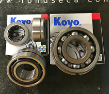YAMAHA RD350 ALL MODELS, NEW GEARBOX KOYO BEARING SET of 4. SAVE £40!