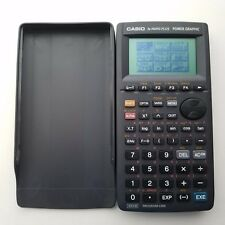 Casio Power Graphic Calculator fx-7400G Plus Handheld W/Cover Works Good