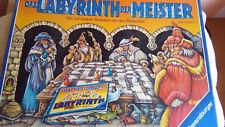 """Ravensburger   """"Das Labyrinth der Meister """"      GESELLSCHAFTSSPIEL"""