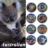 WR 8PCS Austral Endangered Animal Silver Coin Sets Collectible Birthday Gift Kid