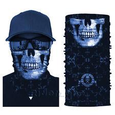 Brand New Tactical Skull Face Shield Sun Mask Balaclava Neck Gaiter