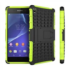 Hybrid Hülle Schutz Silikon TPU für Sony Xperia Z3 D6653 L55T Cover Case Zubehör