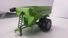 1/64 ERTL custom Parker 1000 bu. grain cart wagon with Duals farm toy free ship!
