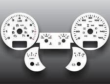 2003-2009 Porsche Cayenne Dash Cluster White Face Gauges 03-09
