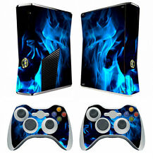 Fire 261 Vinyl Decal Cover Skin Sticker for Xbox360 slim and 2 controller skins