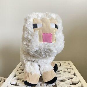 "18"" Large Mojang Minecraft White Sheep Lamb Plush"