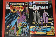 BATMAN- ORA ZERO-miniserie completa -n°1/2- DI:MOENCH MANLEY- PLAY PRESS -rari
