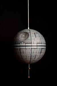IKEA PS 2014 Star Wars Death Star Pendant Lamp 35cm Silver