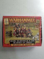 SEALED Warhammer Fantasy DOGS OF WAR BEORG BEARSTRUCK AND THE BEARMEN OF URSLO