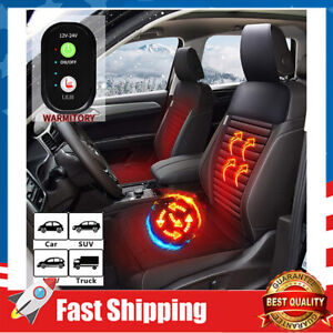 Car Seat Warmer-Universial Heated Seat Cushion Cover with 3 Modes Heat Setting