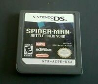 Nintendo DS Game Plays on Dsi Dsl 3DS ~ SPIDER-MAN: BATTLE FOR NEW YORK