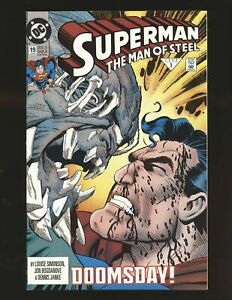 Superman Man of Steel # 19 - Doomsday appearance NM- Cond.