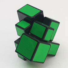 Rare Dark Green Mirror Block 2x2 2x2x2 Magic Cube Black ( DANIU) Power Bull