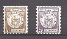 PHILIPPINES ,1959 , CAPIZ , SET OF 2 ,  PERF,  MNH