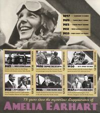 Grenada 2012 MNH Amelia Earhart Disappearance 6v M/S Aviation Airplanes Stamps