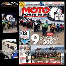 MOTO JOURNAL N°1948 KAWASAKI ZX-10R Z 750 R YAMAHA FZ8 SP R KTM 1190 RC8 R 2011