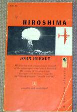 Hiroshima by John Hersey Paperback Book 3rd Printing 1959