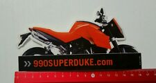 ADESIVI/Sticker: 990 SUPERDUKE MOTORCYCLE/MOTO (20101615)