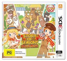 Story of Seasons Trio of Towns Farming Life Simulator Sim Game Nintendo 3DS 2DS