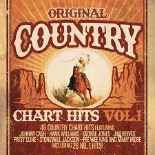 CD Original Country Chart Hits Vol.1 von Various Artists 2CDs