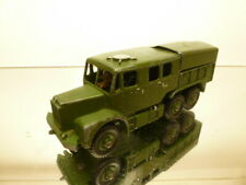 DINKY TOYS 689 MEDIUM ARTILLERY TRACTOR - ARMY GREEN L13.0cm - GOOD CONDITION
