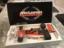 1/18 MINICHAMPS F1 MCLAREN FORD M23 JAMES HUNT 1973 TABACCO LIVERYMEGA RARE HOT*
