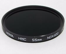 Used Hoya HMC NDX4000 55mm Lens Filter Made in Japan S212031